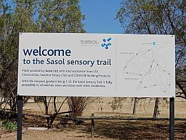SASOL welcome board-207x203