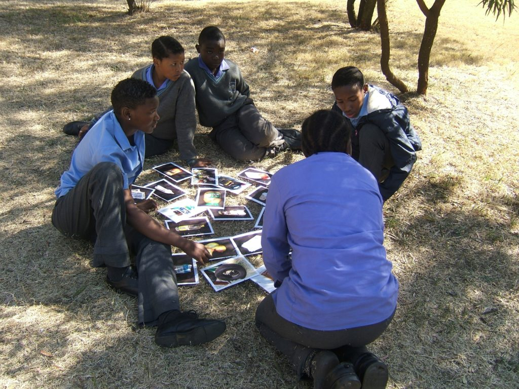 Learners on a School Programme - during an activity